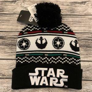 Star Wars One Size Pom Pom Beanie